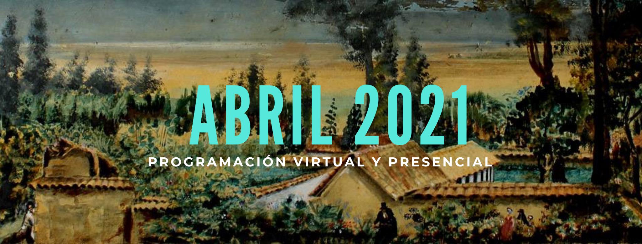 Programación abril 2021